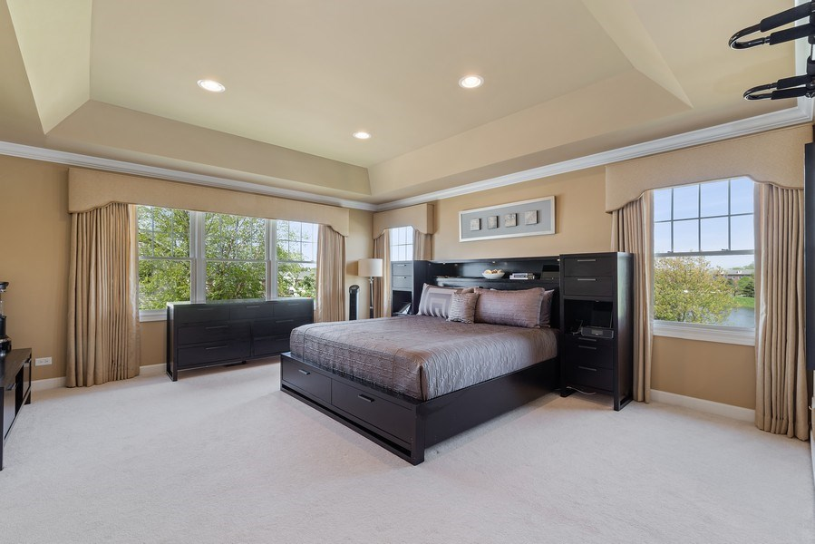 Real Estate Photography - 2200 Fielding, Glenview, IL, 60026 - Master Bedroom
