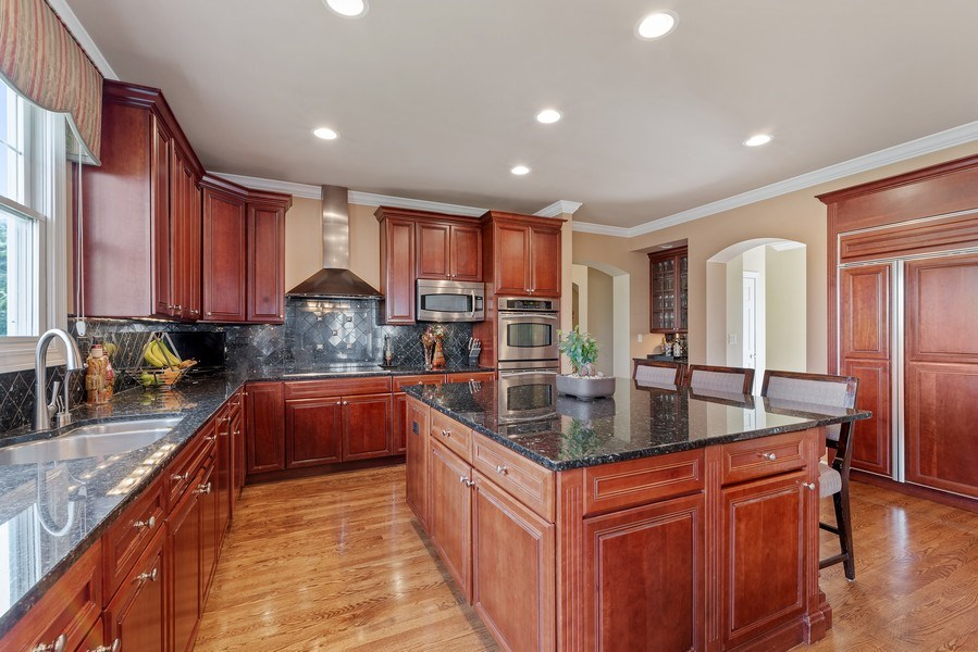 Real Estate Photography - 2200 Fielding, Glenview, IL, 60026 - Kitchen