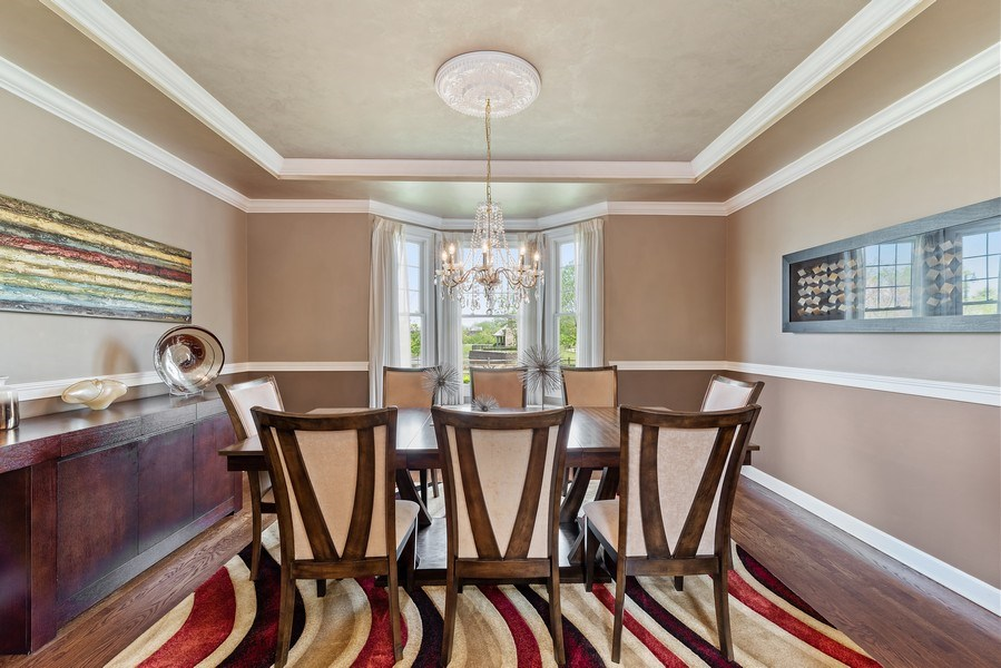 Real Estate Photography - 2200 Fielding, Glenview, IL, 60026 - Dining Room