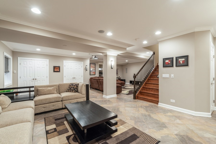 Real Estate Photography - 2200 Fielding, Glenview, IL, 60026 - Recreation Room
