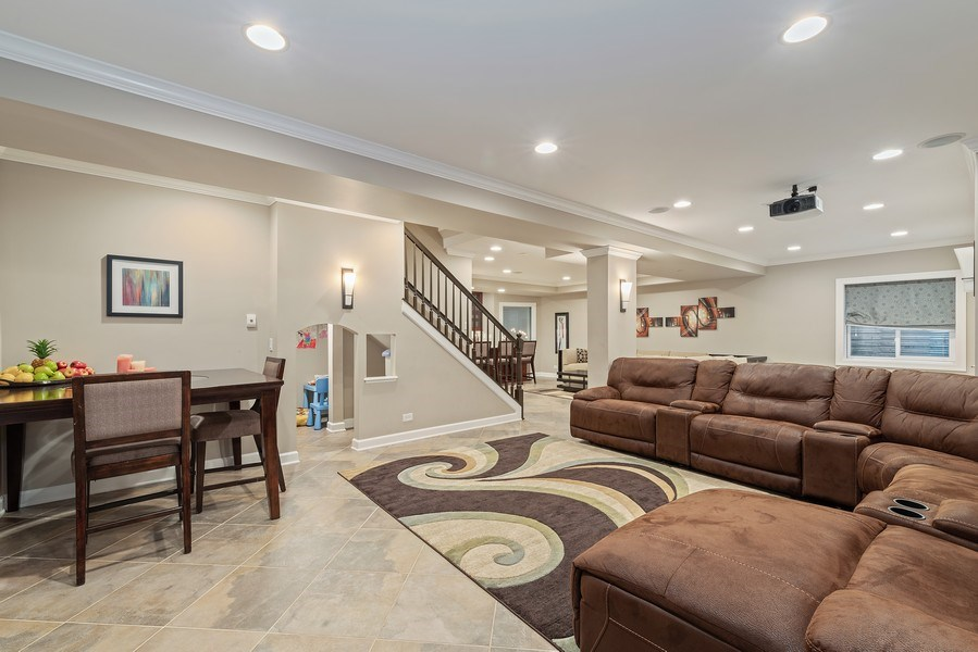 Real Estate Photography - 2200 Fielding, Glenview, IL, 60026 - Theater Room