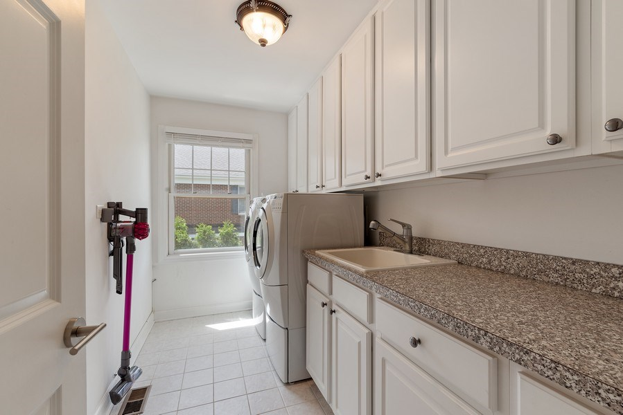 Real Estate Photography - 2200 Fielding, Glenview, IL, 60026 - Laundry Room