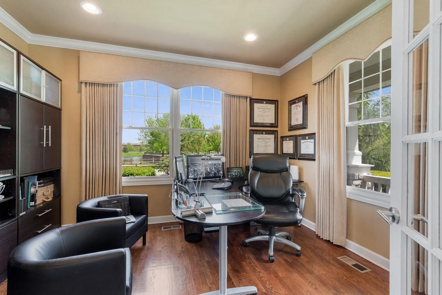 Real Estate Photography - 2200 Fielding, Glenview, IL, 60026 - Office