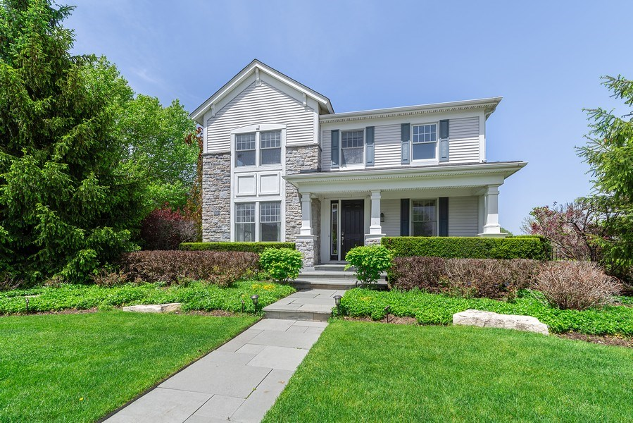 Real Estate Photography - 2200 Fielding, Glenview, IL, 60026 - Front View