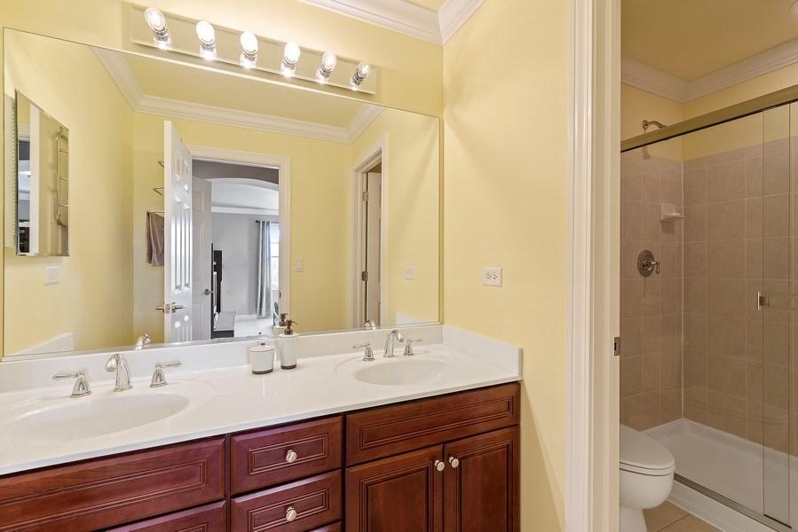 Real Estate Photography - 2200 Fielding, Glenview, IL, 60026 - Jr Suite Bath