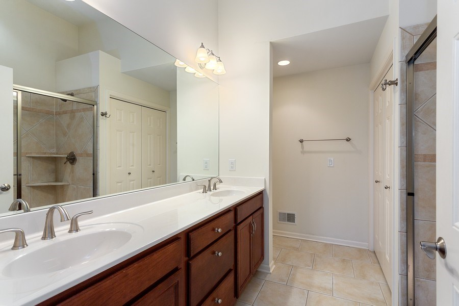 Real Estate Photography - 2540 Holiday House Road, St. Joseph, MI, 49085 - Master Bathroom