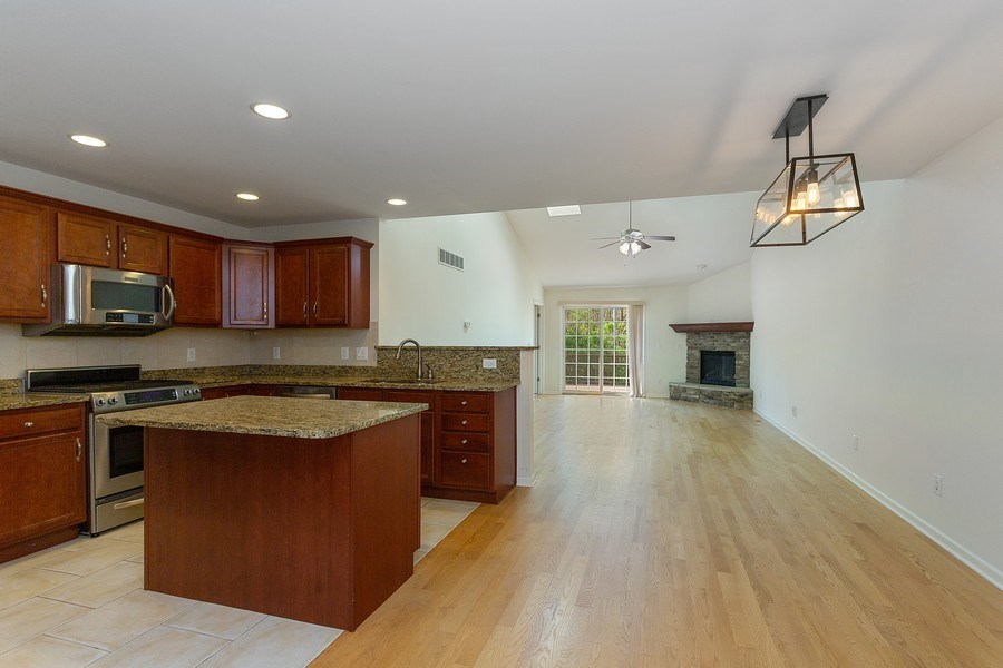 Real Estate Photography - 2540 Holiday House Road, St. Joseph, MI, 49085 - Kitchen/Living Room
