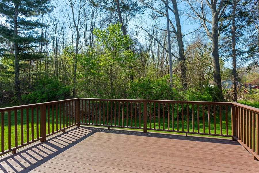 Real Estate Photography - 2540 Holiday House Road, St. Joseph, MI, 49085 - Back Deck