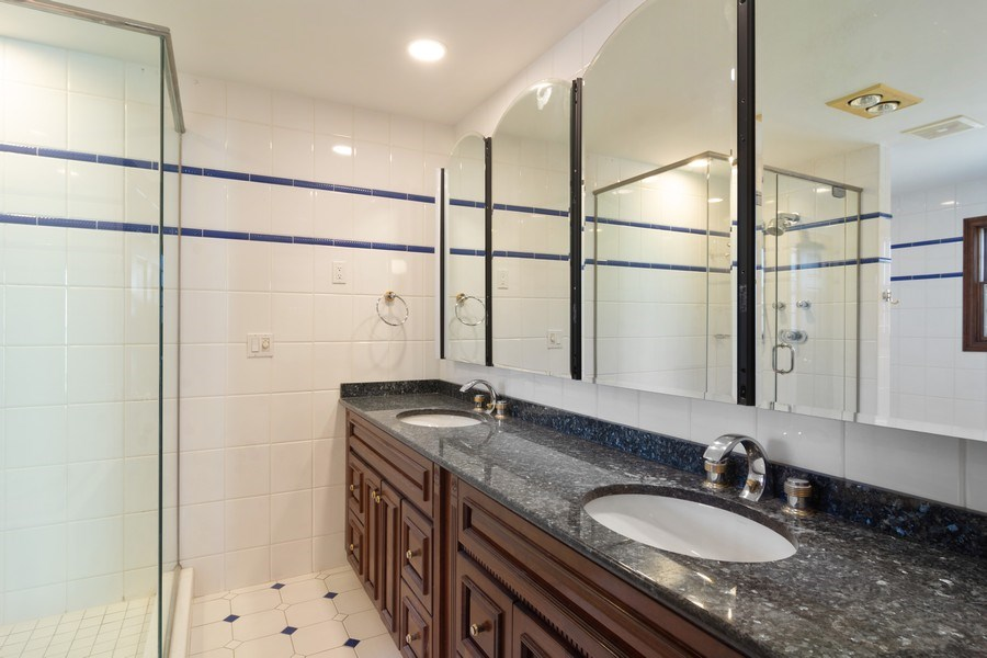 Real Estate Photography - 640 Valley, Palatine, IL, 60067 - Master Bathroom
