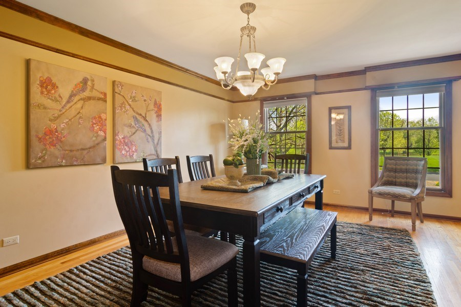 Real Estate Photography - 640 Valley, Palatine, IL, 60067 - Dining Room