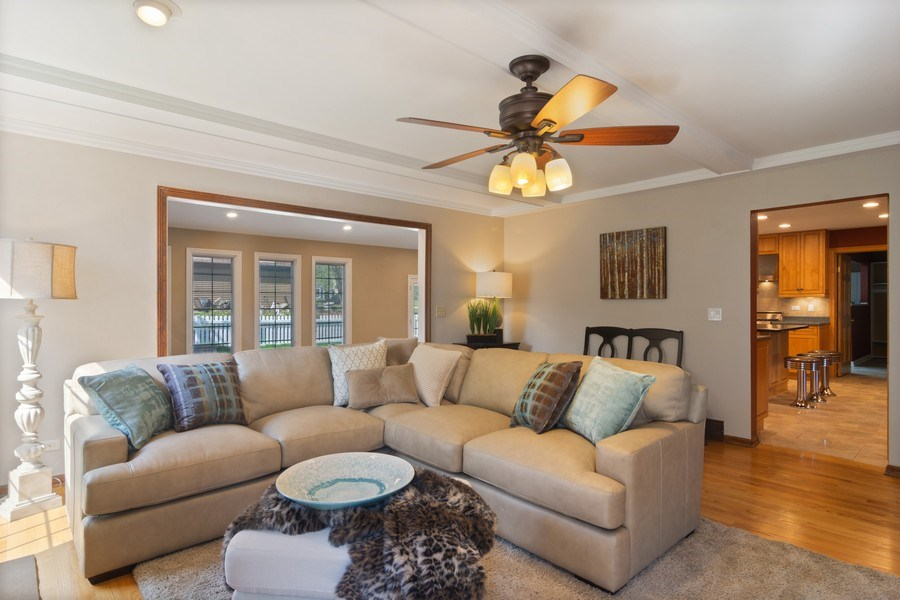 Real Estate Photography - 640 Valley, Palatine, IL, 60067 - Family Room