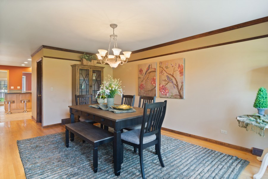 Real Estate Photography - 640 Valley, Palatine, IL, 60067 - Dining Area