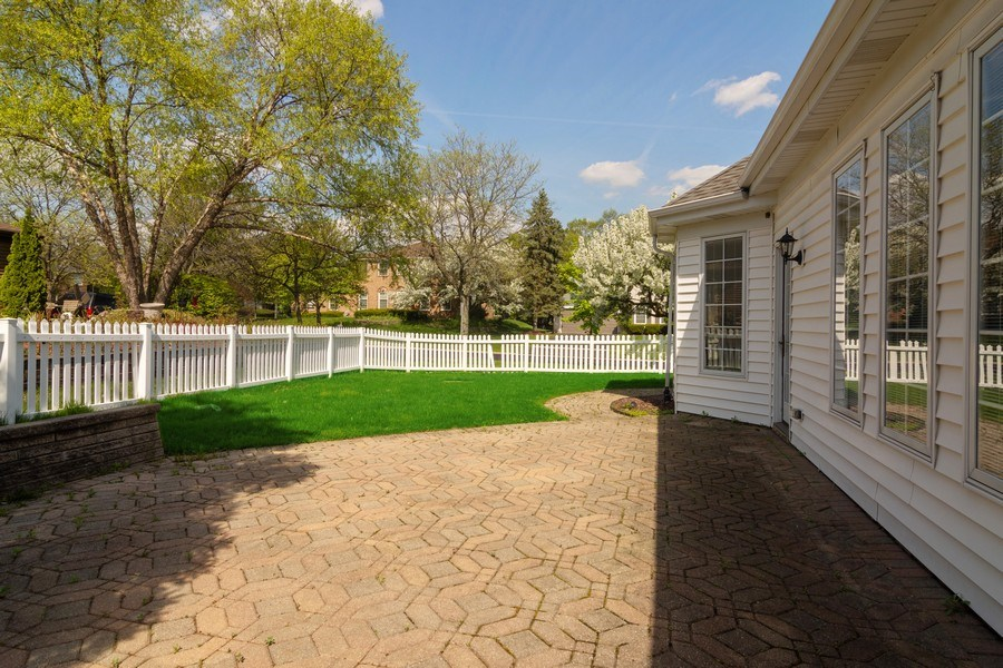Real Estate Photography - 640 Valley, Palatine, IL, 60067 - Patio