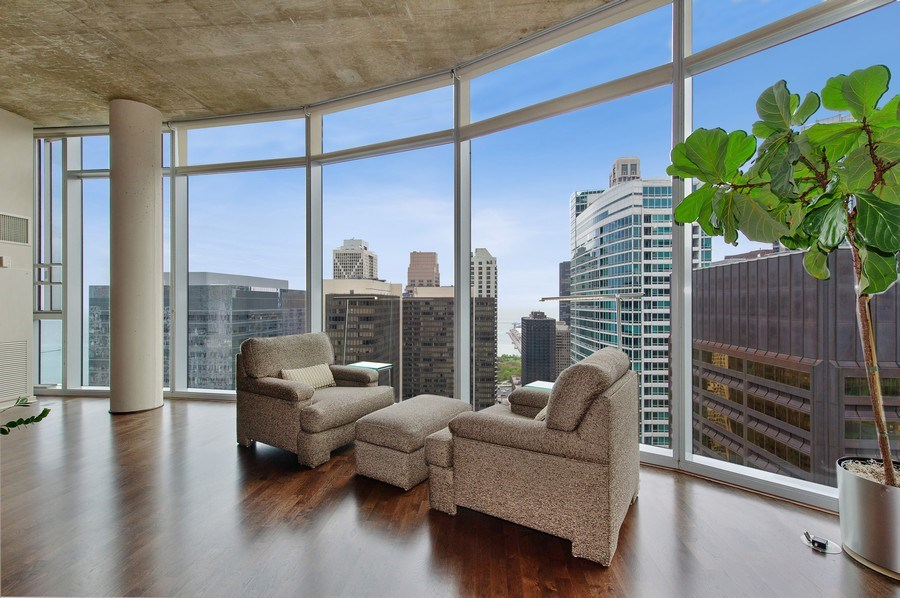 Real Estate Photography - 600 N Fairbanks Ct, PH3801, Chicago, IL, 60611 - Postcard Views From Every Room