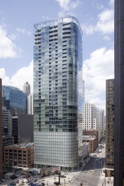Real Estate Photography - 600 N Fairbanks Ct, PH3801, Chicago, IL, 60611 - 600 Fairbanks | Helmut Jahn's Iconic Glass & Steel