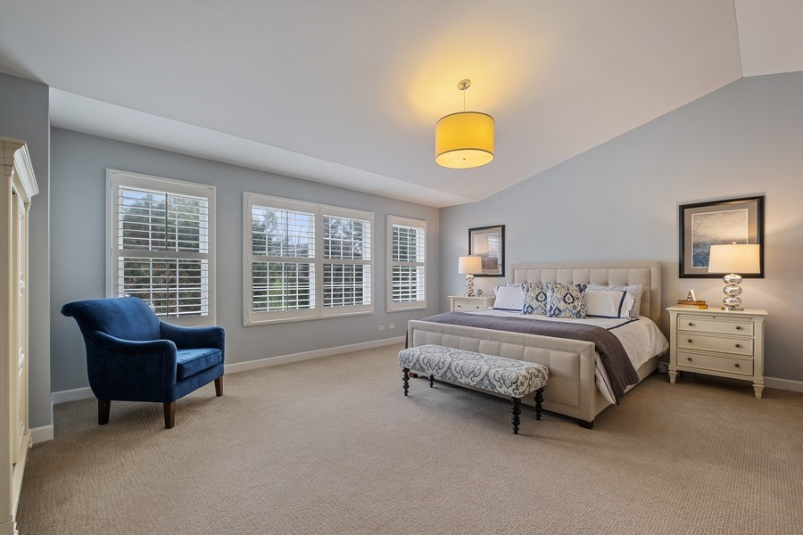 Real Estate Photography - 1713 Primrose Ln, Glenview, IL, 60026 - Master Bedroom
