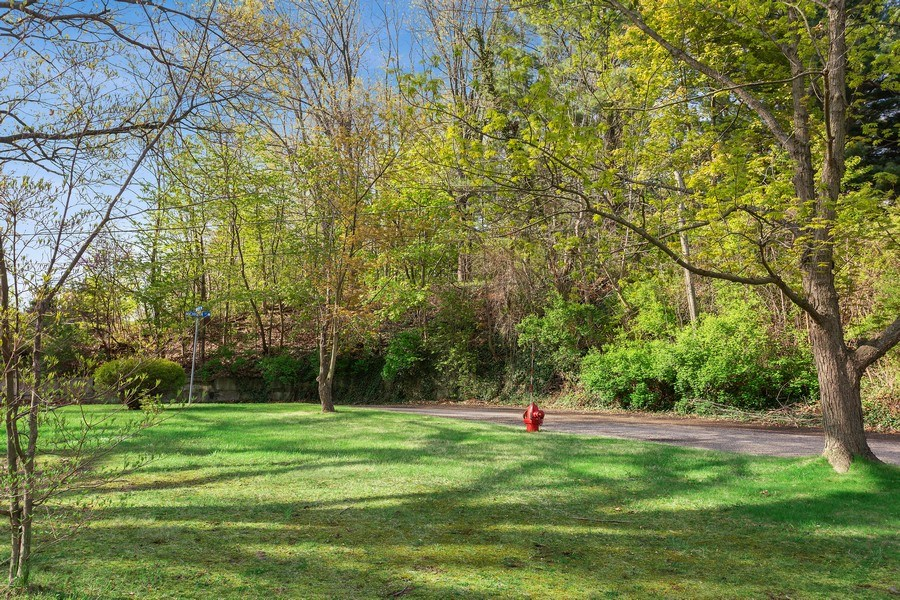 Real Estate Photography - 28 S. Griffith St, New Buffalo, MI, 49117 - Side Yard