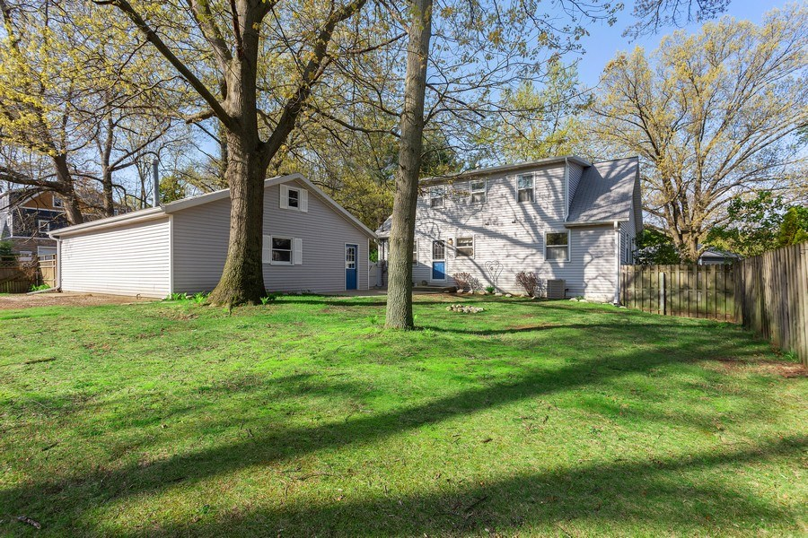 Real Estate Photography - 28 S. Griffith St, New Buffalo, MI, 49117 - Rear View
