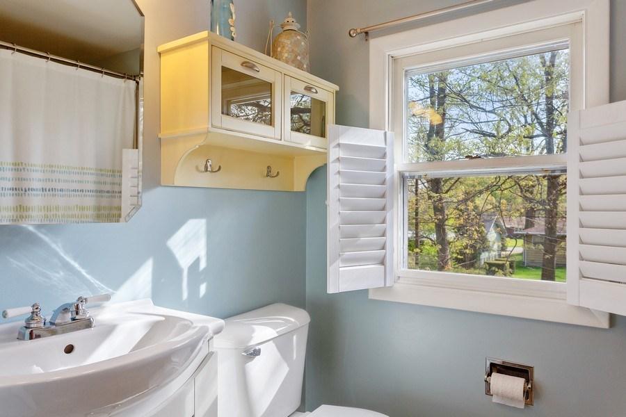 Real Estate Photography - 28 S. Griffith St, New Buffalo, MI, 49117 - Bathroom