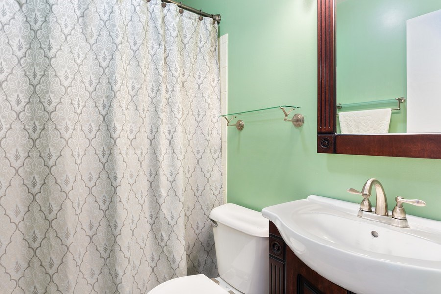 Real Estate Photography - 28 S. Griffith St, New Buffalo, MI, 49117 - 2nd Bathroom