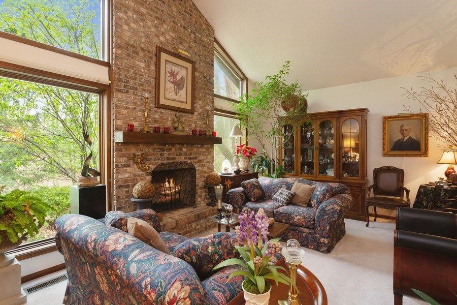 Real Estate Photography - 4892 Hillside Ct, Bridgman, MI, 49106 - Living Room