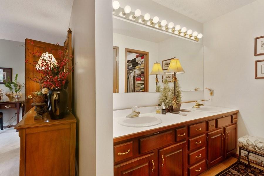 Real Estate Photography - 4892 Hillside Ct, Bridgman, MI, 49106 - Master Bathroom