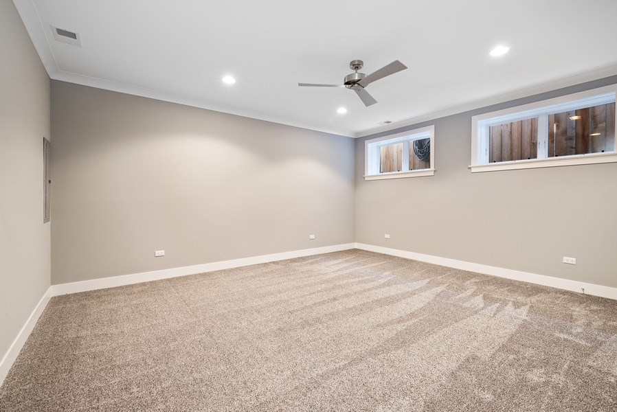 Real Estate Photography - 1734 W. Henderson St., Chicago, IL, 60657 - 2nd Bedroom