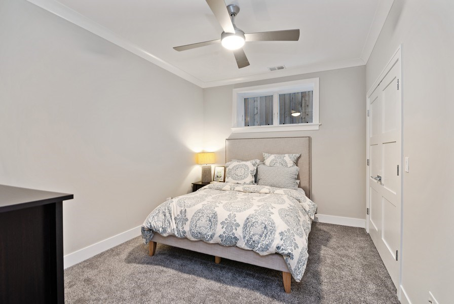 Real Estate Photography - 1734 W. Henderson St., Chicago, IL, 60657 - 3rd Bedroom