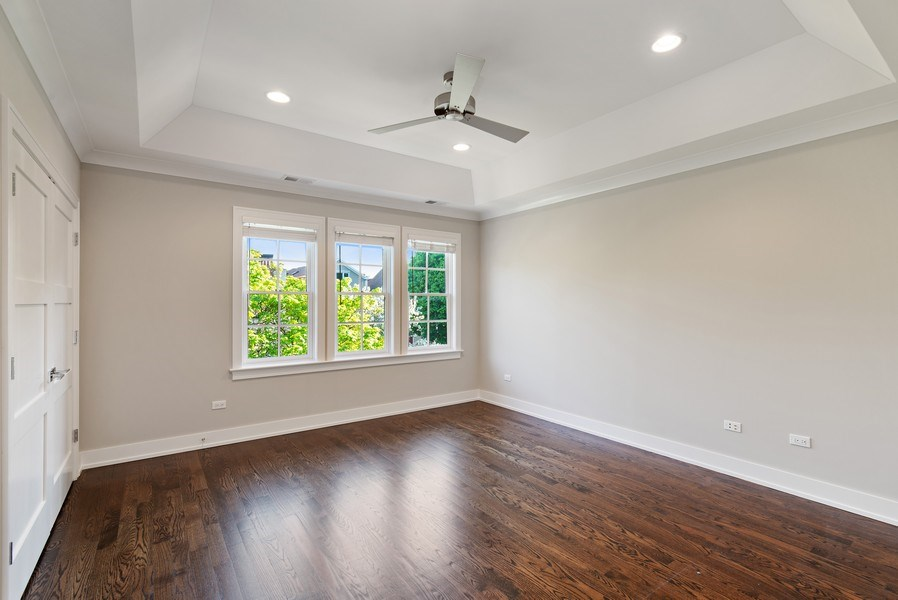 Real Estate Photography - 1734 W. Henderson St., Chicago, IL, 60657 - Bedroom