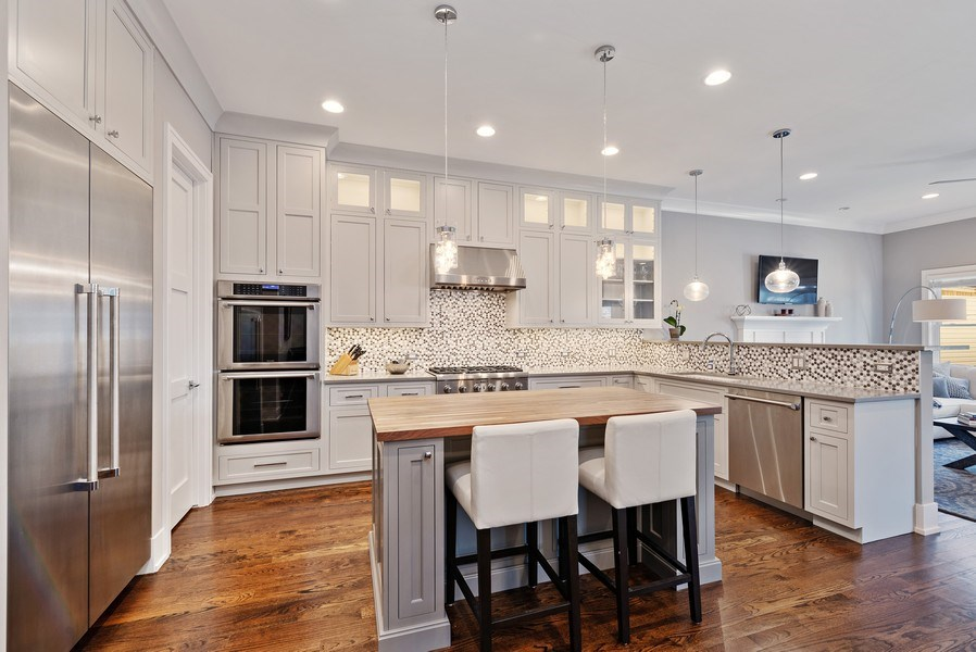 Real Estate Photography - 1734 W. Henderson St., Chicago, IL, 60657 - Kitchen