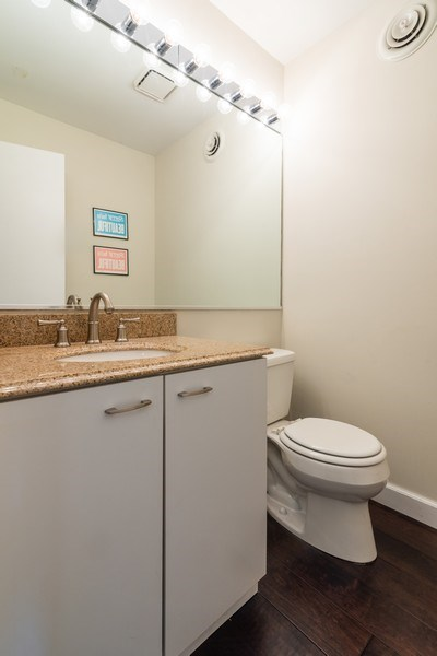 Real Estate Photography - 1760 W Wrightwood, Chicago, IL, 60614 - 2nd Bathroom