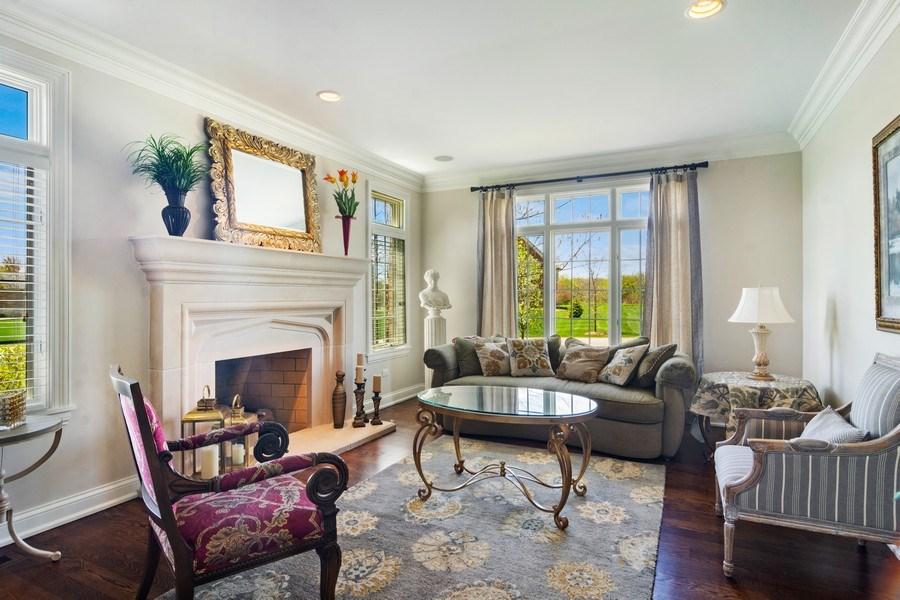 Real Estate Photography - 22141 W Windridge, kildeer, IL, 60047 - Living Room