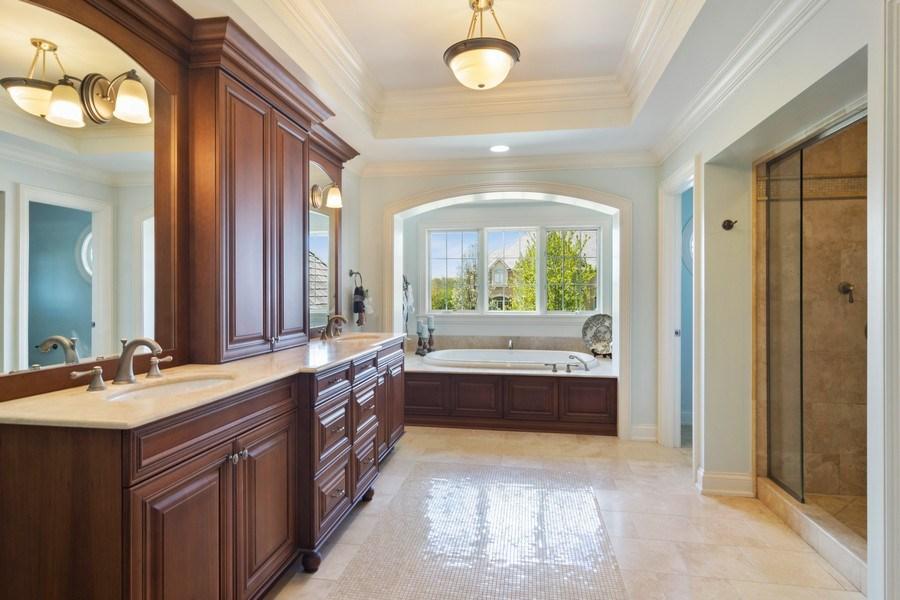 Real Estate Photography - 22141 W Windridge, kildeer, IL, 60047 - Master Bathroom