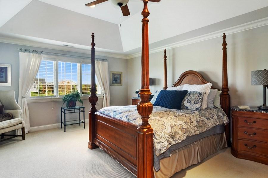 Real Estate Photography - 22141 W Windridge, kildeer, IL, 60047 - Master Bedroom