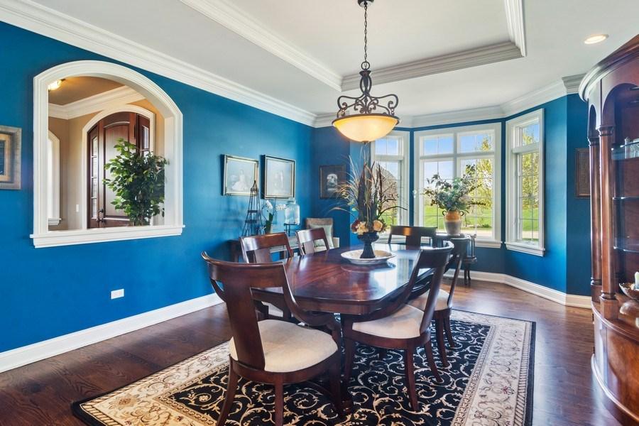 Real Estate Photography - 22141 W Windridge, kildeer, IL, 60047 - Dining Room