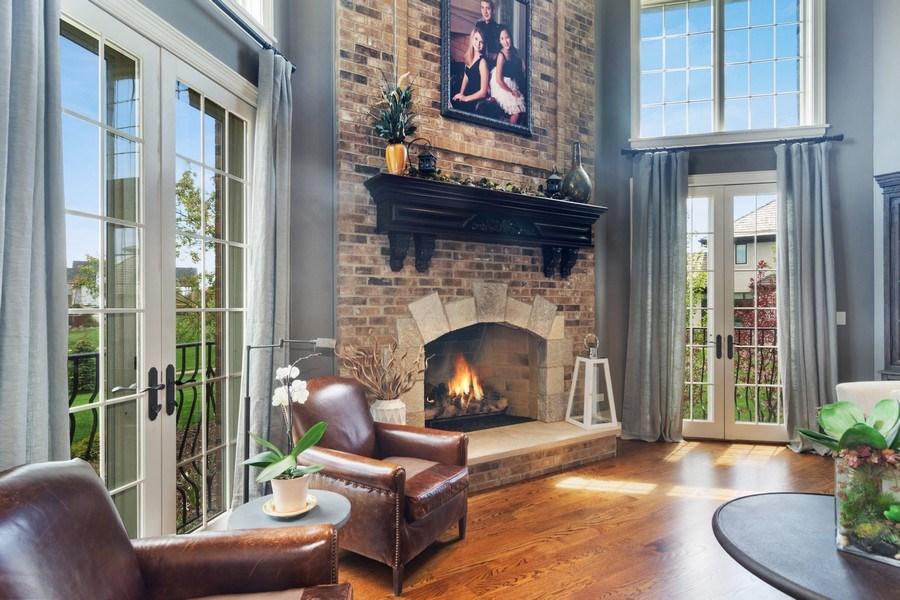 Real Estate Photography - 22141 W Windridge, kildeer, IL, 60047 - Family Room