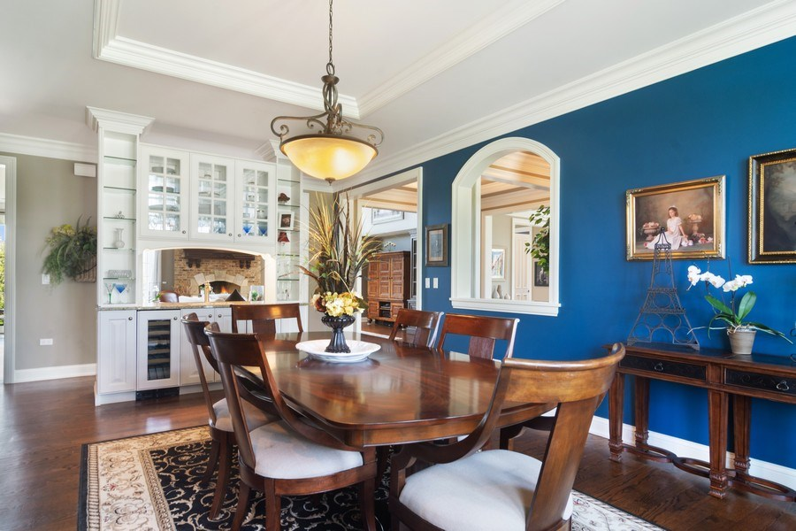 Real Estate Photography - 22141 W Windridge, kildeer, IL, 60047 - Dining Area