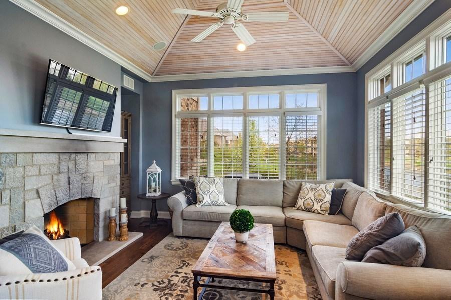 Real Estate Photography - 22141 W Windridge, kildeer, IL, 60047 - Den