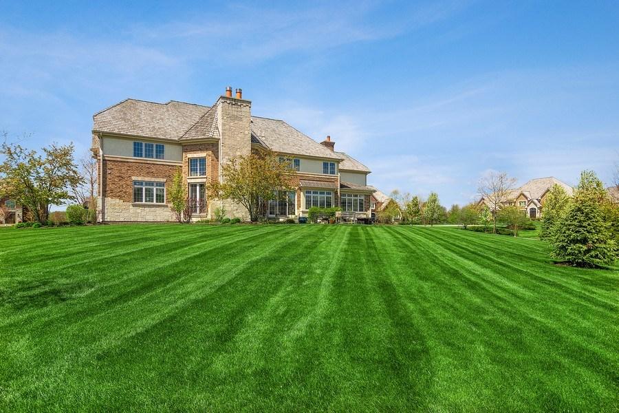 Real Estate Photography - 22141 W Windridge, kildeer, IL, 60047 - Rear View