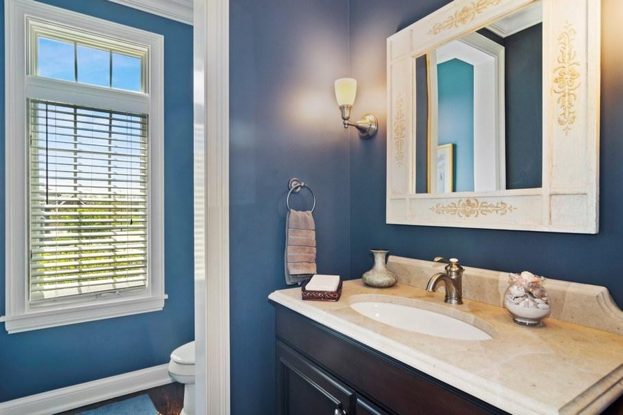 Real Estate Photography - 22141 W Windridge, kildeer, IL, 60047 - Half Bath