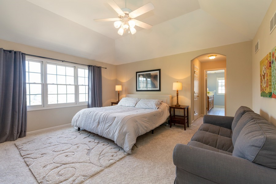 Real Estate Photography - 674 Waterside, South Elgin, IL, 60177 - Master Bedroom