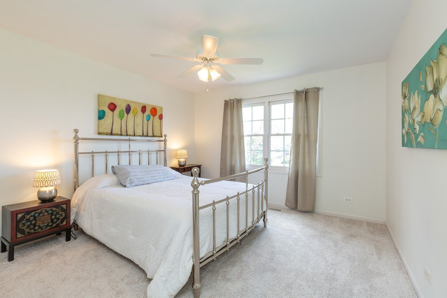 Real Estate Photography - 674 Waterside, South Elgin, IL, 60177 - 3rd Bedroom