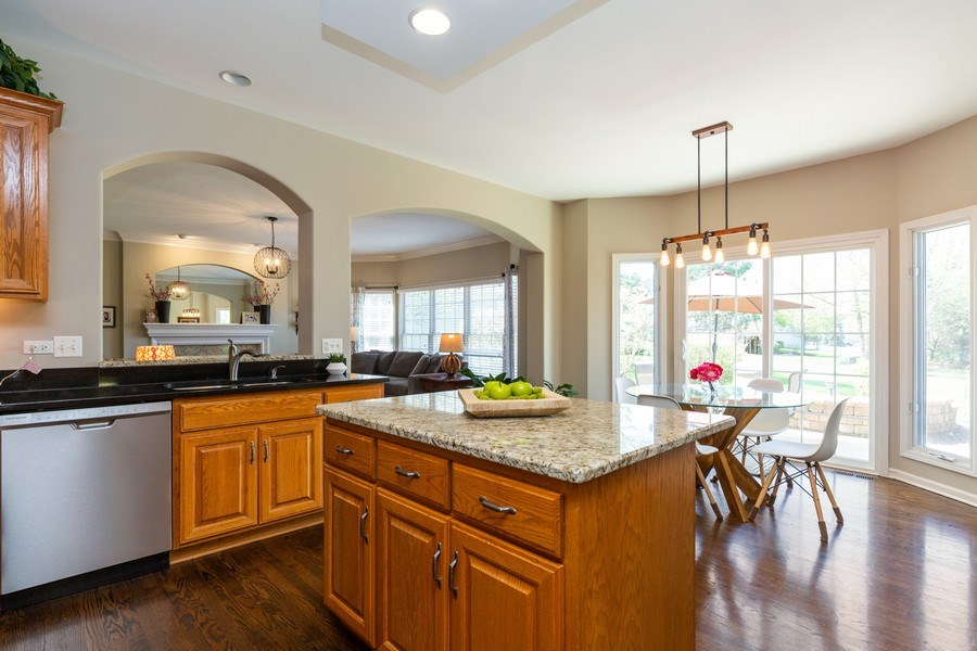 Real Estate Photography - 674 Waterside, South Elgin, IL, 60177 - Kitchen