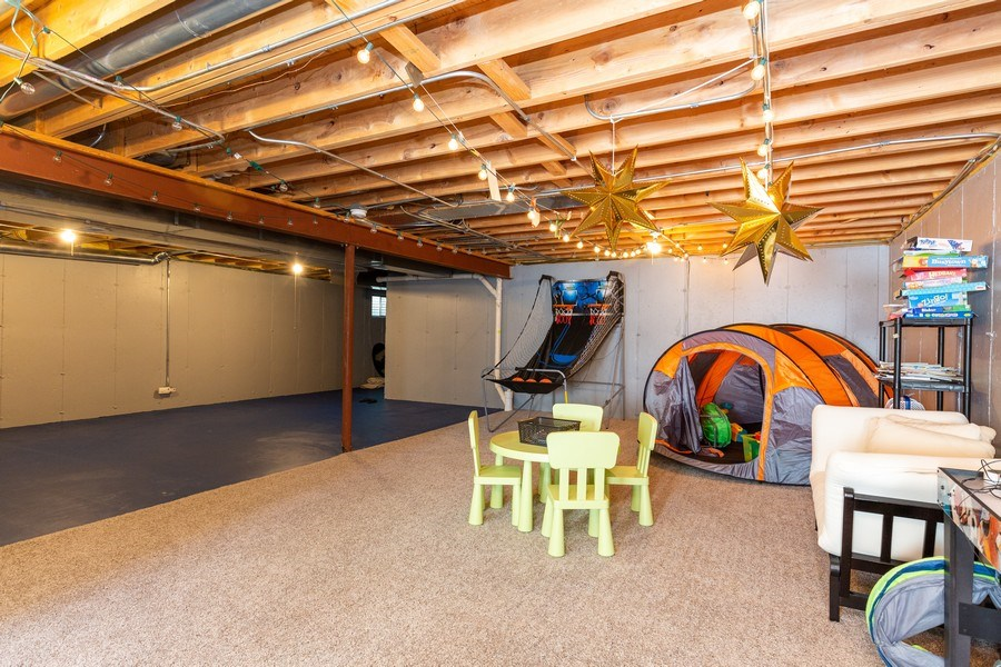 Real Estate Photography - 674 Waterside, South Elgin, IL, 60177 - Basement