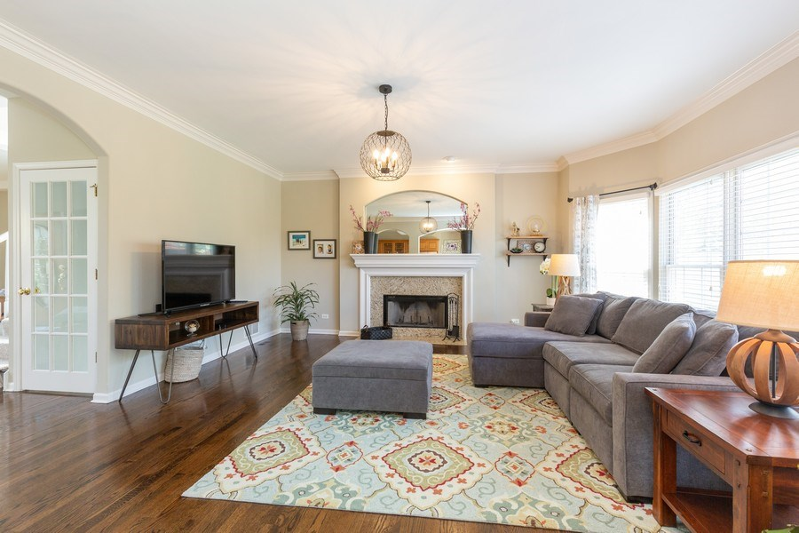 Real Estate Photography - 674 Waterside, South Elgin, IL, 60177 - Family Room