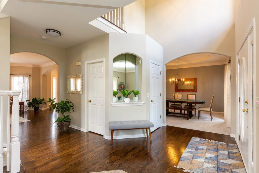 Real Estate Photography - 674 Waterside, South Elgin, IL, 60177 - Foyer
