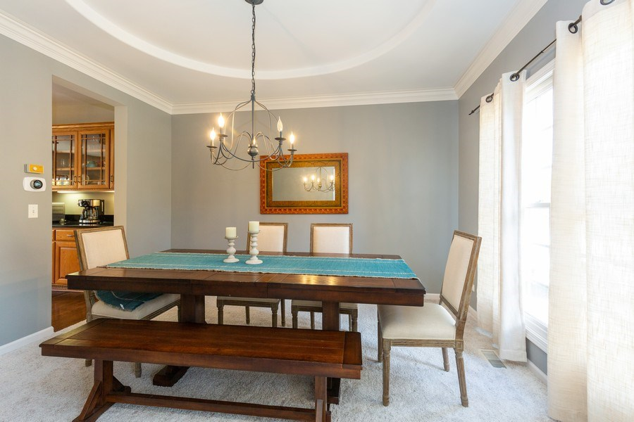 Real Estate Photography - 674 Waterside, South Elgin, IL, 60177 - Dining Room