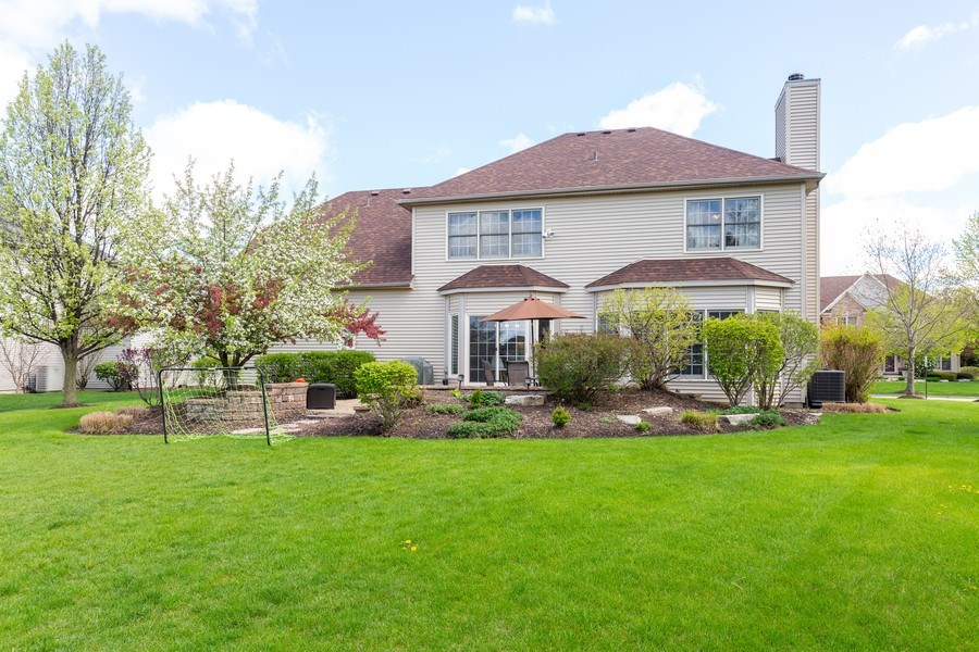 Real Estate Photography - 674 Waterside, South Elgin, IL, 60177 - Rear View