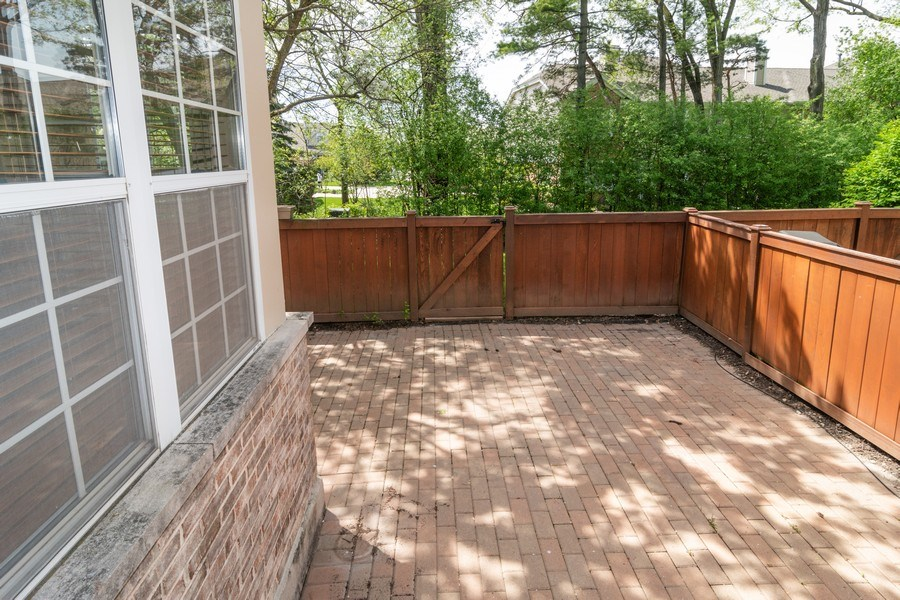 Real Estate Photography - 11413 Enterprise Dr, Westchester, IL, 60154 - Back Yard