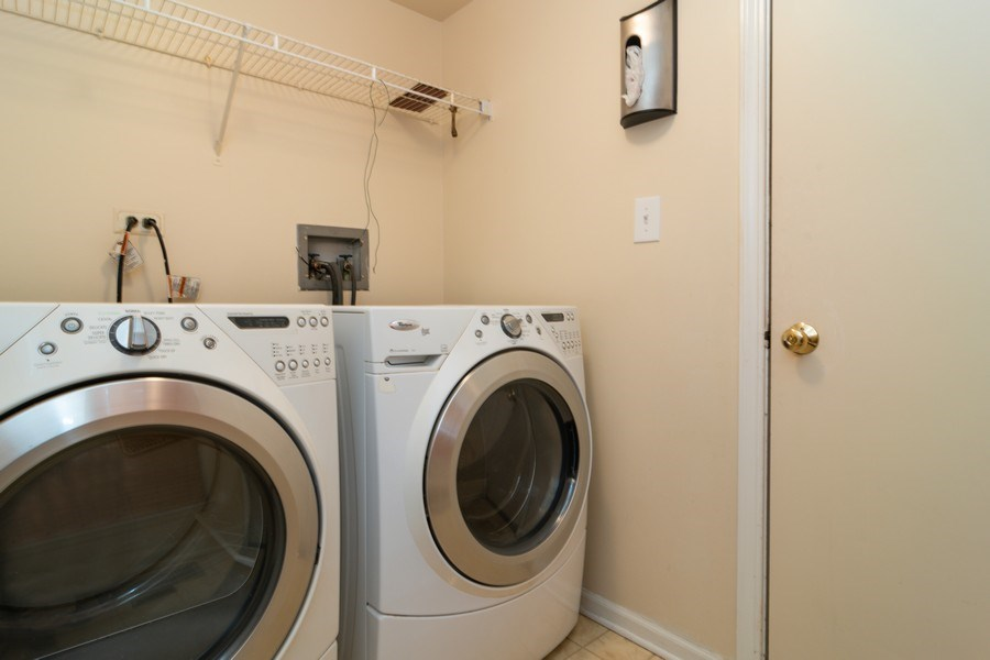 Real Estate Photography - 11413 Enterprise Dr, Westchester, IL, 60154 - Laundry Room